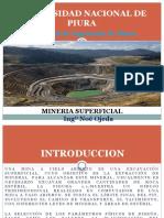 Diapositivas de Mineria en Explotacion Superficial