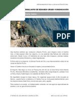 EVALUACION DE SIMULACRO COMPRENSION LECTURA 2° GRADO SECUNDARIA