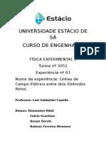 Relatório de Física Experimental III - Experiência 03