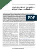 X-ray Structure of Dopamine Elucidates Antidepressants