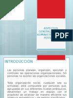 Aspectos Generales y Aspectos Conceptuales de La Administracion (1)