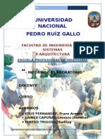 1er Informe de Madera Unprg