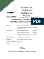 Informe 3 de Quimica Analitica