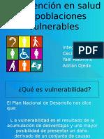 Intervención en Salud en Poblaciones Vulnerables EXPO