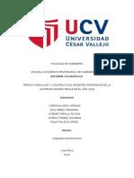 Modelo de Redaccion de Informe Estadístico