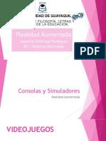 Consolas y Simuladores Realidad Aumentada