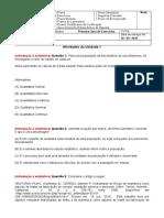 Primeira Lista de Exercicios_Unidades 1 a 5_Estatistica e Probabilidades