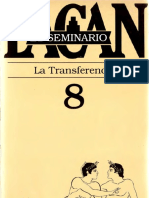 El Seminario 8. La transferencia [Jacques Lacan].pdf