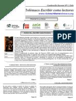 misterio en los piñones Cuadernillo Docente N1 - CHILE- 2009-10.pdf