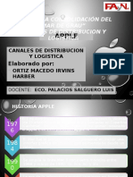 Canales de Distribucion y Logistica -Trabajo Final Apple