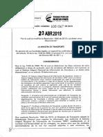 Resolucion 1067 de 2015