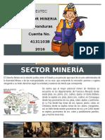Sector Mineria Honduras