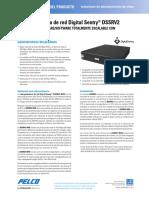 Digital Sentry DSSRV2 Network Video Recorder Spec Sheet Spanish