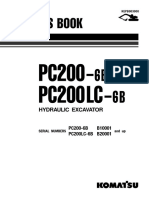 Catalago Parts Book - PC200