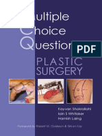 MCQs in Plastic Surgery