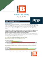 Ohio Breitbart Gravis Poll Sept 25