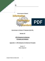 Appendix a - OPS Enterprise Architecture Principles