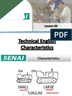 Aula 03 - Características