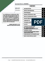 Honda BF2D Outboard Motors Shop Manual