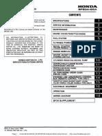Honda BF20A-BF25A, BF25D-BF30D Outboard Motors Shop Manual.