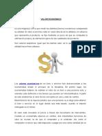 Valor Economico y Gestion Financiera