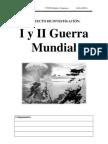 Proyecto Investigacion I y II Guerra Mundial