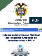 Sistema Informacion PAI