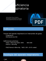 Insuficiencia Respiratoria (Aguda y Crónica)