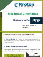 Cinemática Mu Sidnei