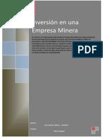 Proyectos Mineros de Inversion
