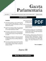 Iniciativa de Reforma a los artículos 4 y 73 de la Constitución Federal