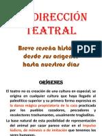 La Dirección Teatral