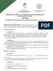 PAU Murcia Matemáticas CCSS 06/08