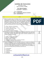 #Questoes Banco de Dados e SGBD - diversas bancas - 2011.pdf
