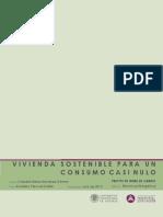 PFG. Vivienda Sostenible Para Un Consumo Casi Nulo. Autora Claudia Mendoza Gomez
