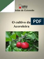 Acerola Boletim Volume UFSJ