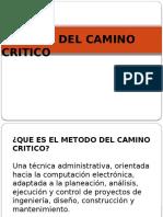 Metodo Del Camino Critico