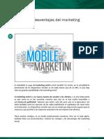 Ventajas y Desventajas Del Marketing Móvil