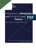 Integridad y Prevencion de La Corrup