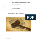 Investigacion Politica Criminologica