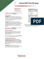 FactoryTalk®View SE Setup.pdf