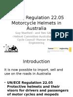 ECE 22.05 in Australia