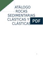 Catálogo Rocas Sedimentarias