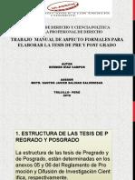 Diapositivas de Aspectos Pos y Pre Grado