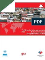 Informe 1er Foro Recuperación de Barrios (1)