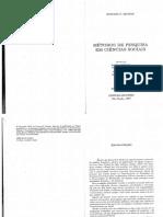 Becker - Métodos de Pesquisa Em Ciências Sociais