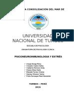 Monografia Psiconeuronmunologia y Estrés (1)