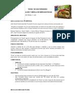 Mezcla de marketing San Fernando