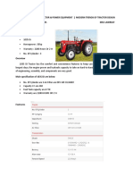 2. Tractor Design Current Trends and Implements