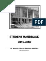 MSMS 2015 Handbook